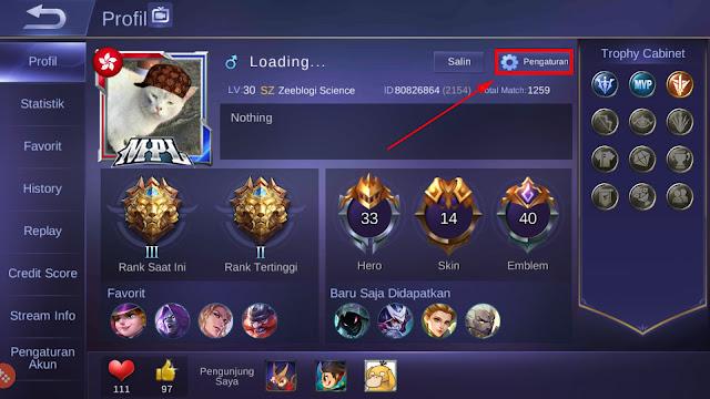 Cara Mengganti Nama Mobile Legends Menjadi Keren 18