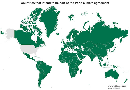 All countries have signed Paris agreement except the U.S. - Ecoclimax