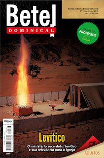 Editora Betel - Lição 3 - A oferta de manjares.