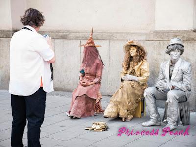 慕尼黑街頭藝人