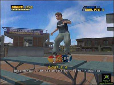 Tony Hawk's Pro Skater 4 (PS2) 2002 LINK CONSERTADO