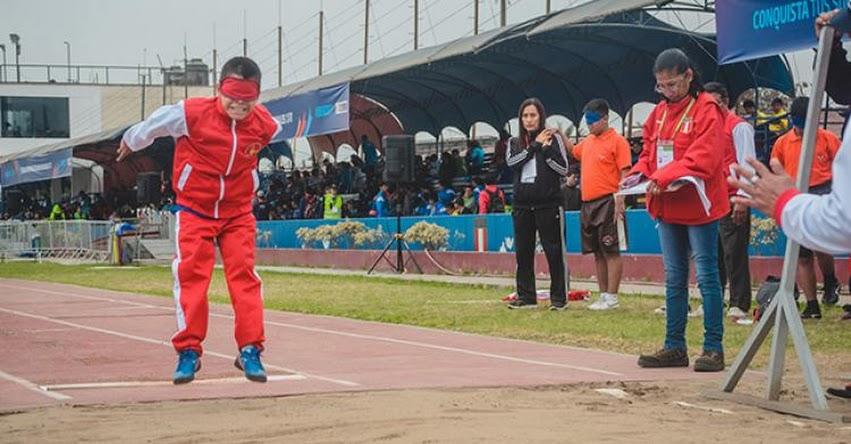 MINEDU: Escolares con discapacidad visual podrán participar en atletismo - www.minedu.gob.pe