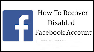 how to open disable facebook