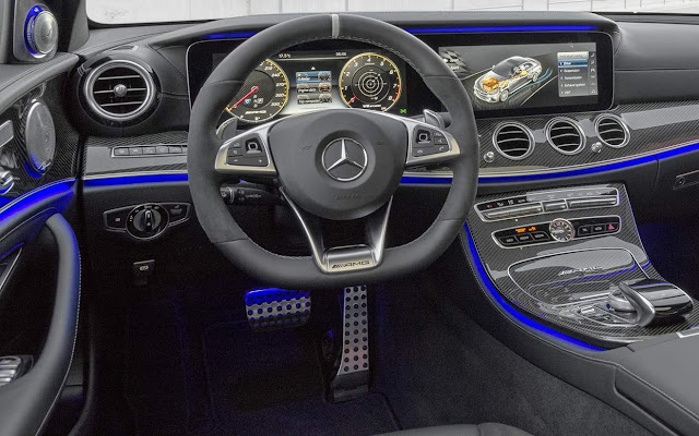 Mercedes-AMG E 63 S 4MATIC+ 2018 - interior