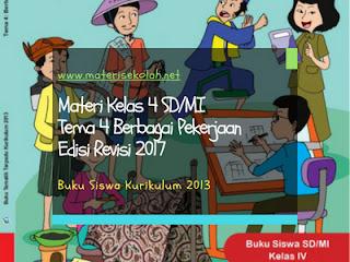 Materi Kelas 4 SD/MI Tema 4 Edisi Revisi 2017 (K-2013)