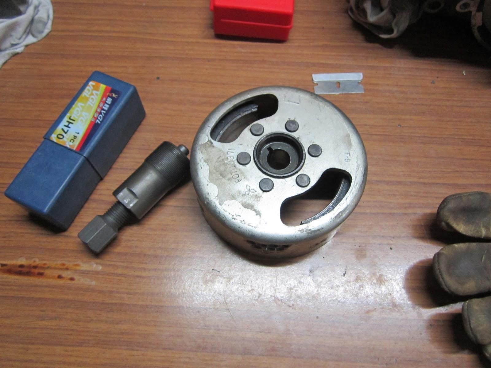 medium resolution of yamaha flywheel puller and flywheel yamaha ls3