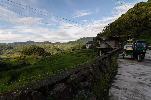 Banaue Bangaan Road Views Ifugao Cordillera Administrative Region Philippines