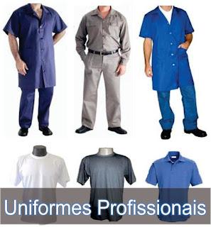 Vários uniformes personalizados