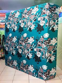 Kasur inoac motif bunga manohara ijo