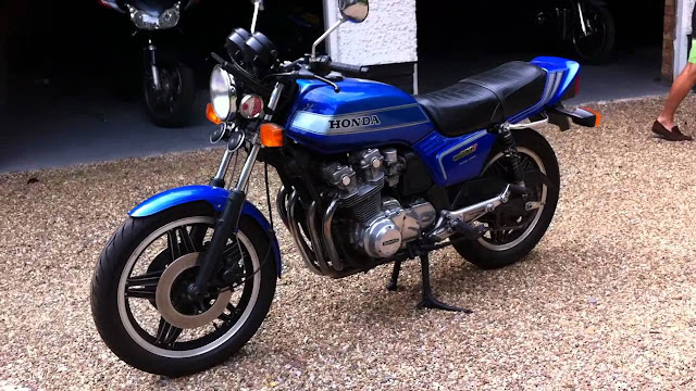 Honda CB900F Top speed