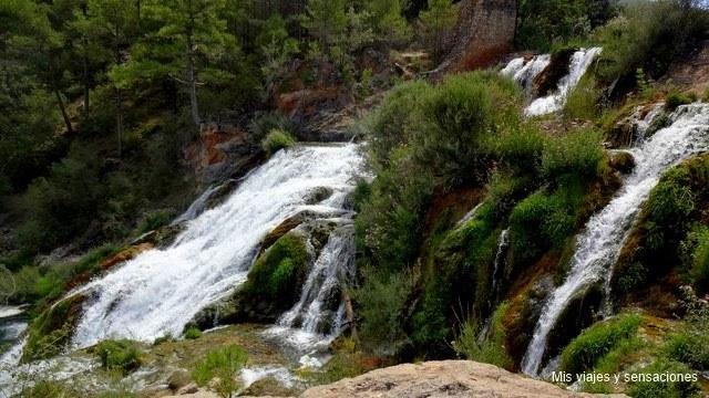 Salto de Poveda, Parque Natural del Alto Tajo