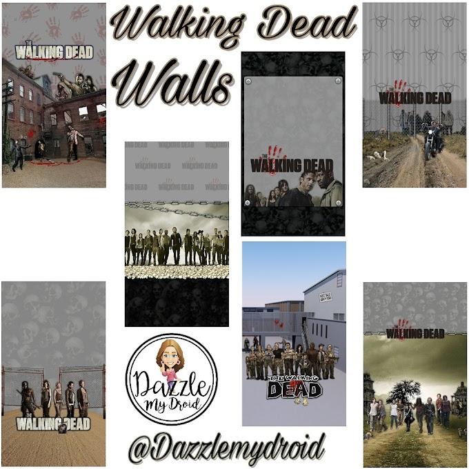 Walking Dead Wall Set