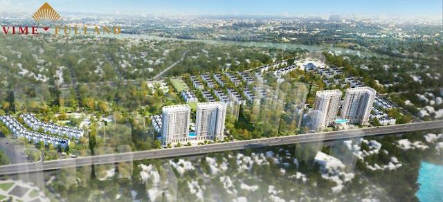 Phối cảnh dự án Annecy Garden Hoàng Mai
