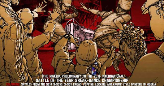 THE BIGGEST DANCE BATTLE STORMS LAGOS #BOTY