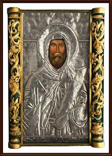 Icoana Facatoare de Minuni a Sfantului Antonie cel Mare din Biserica Domneasca,