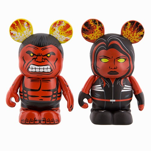 Marvel Vinylmation 2 Pack - Iron Patriot & War Machine Vinyl Figures