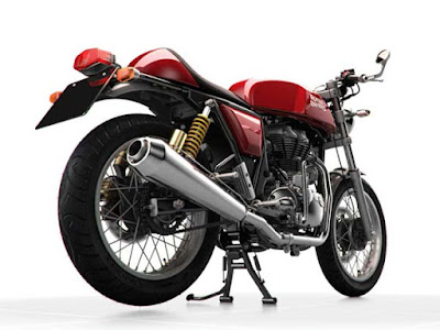 Royal Enfield Continental GT looks