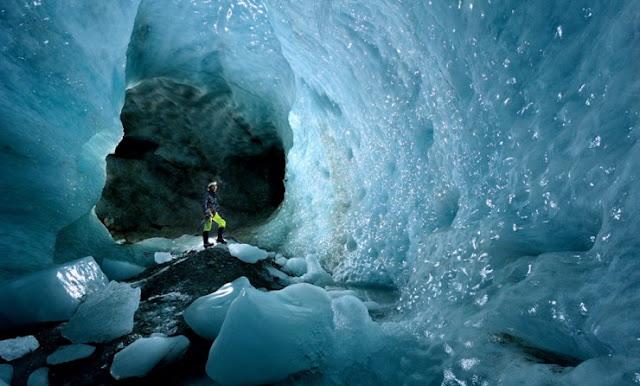 Gua Es Glacier Patagonian, Argentina