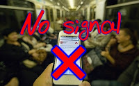 Нет сотовой сети в московском метро