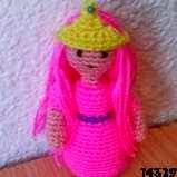 patron gratis muñeca princesa amigurumi, free amigurumi pattern princess doll