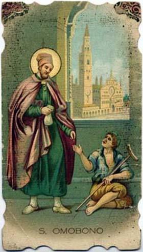 sveti Homobonus - trgovec in čudodelnik