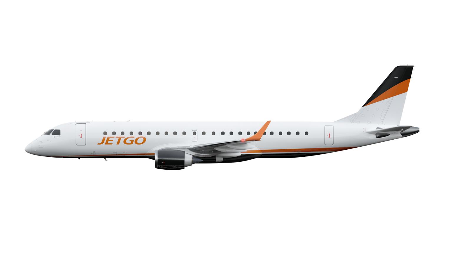 Image result for jetgo embraer 190