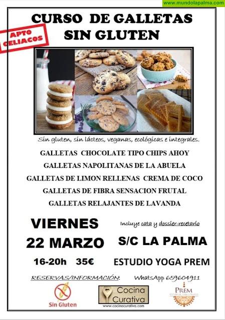 Curso de Galletas sin Gluten en Santa Cruz de La Palma