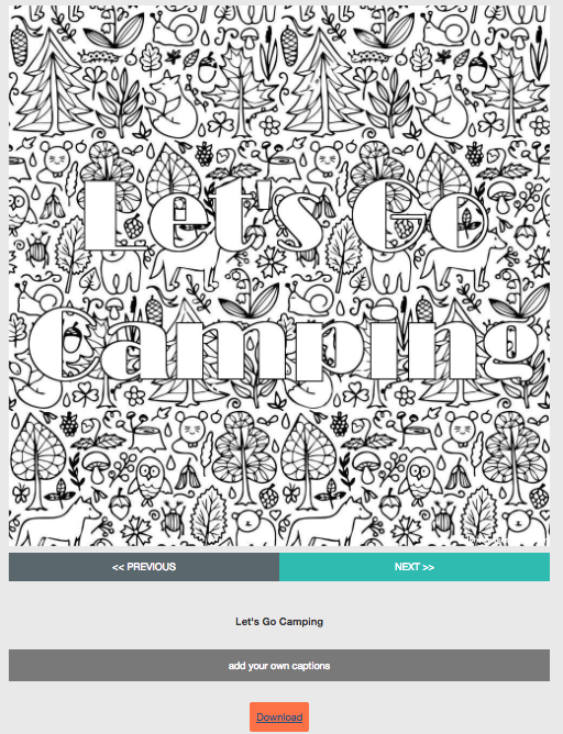The Library Voice Create Your Very Own Coloring Pages