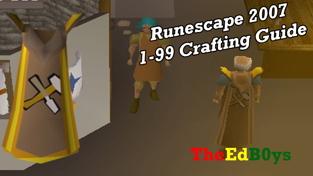 How To :): 1-99 crafting guide osrs