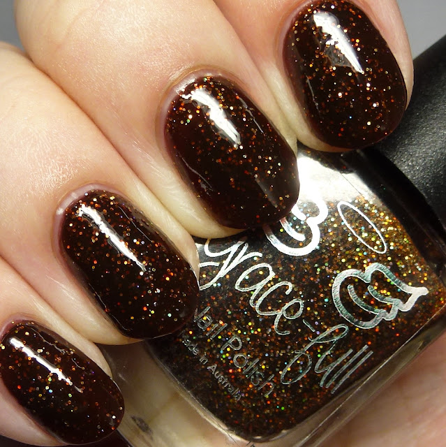 Grace-full Nail Polish IV Coffee