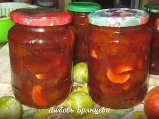 варенье из слив и яблок простой рецепт