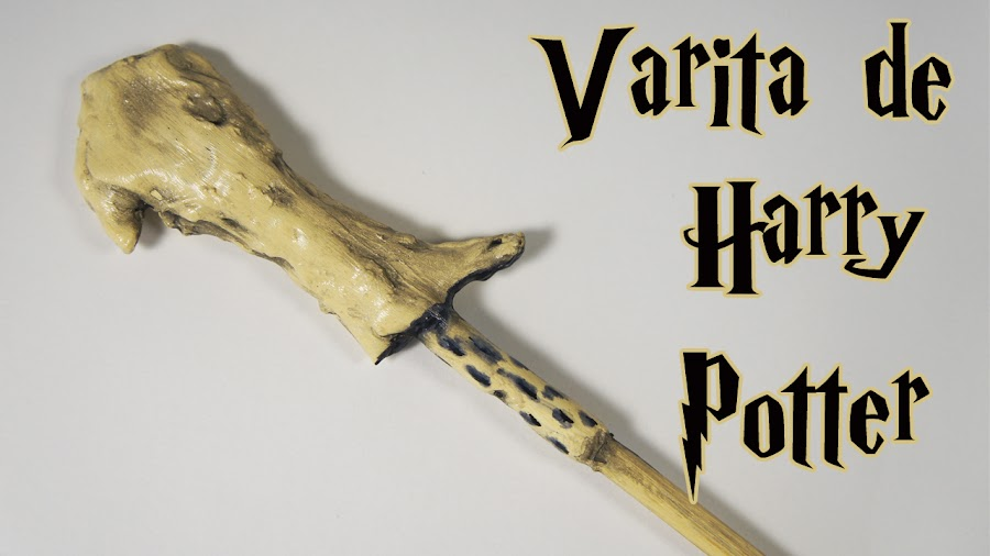 diy tutorial varita de harry potter