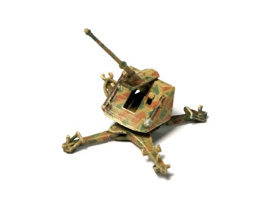 1:144 German 88mm Pak 43 L/71 on Cruciform picture 2