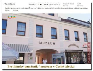 Exotická příroda v Protivíně, Česká televize - Tamtam
