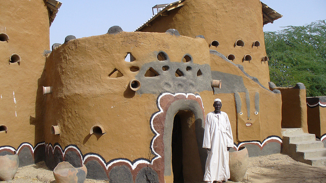 traditional architecture african village chad africa sao civilisation architectur mud spectacular pottery known its capital