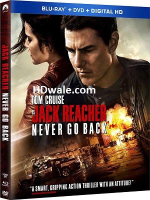 Jack Reacher Never Go Back Full Movie Download (2016) BluRay