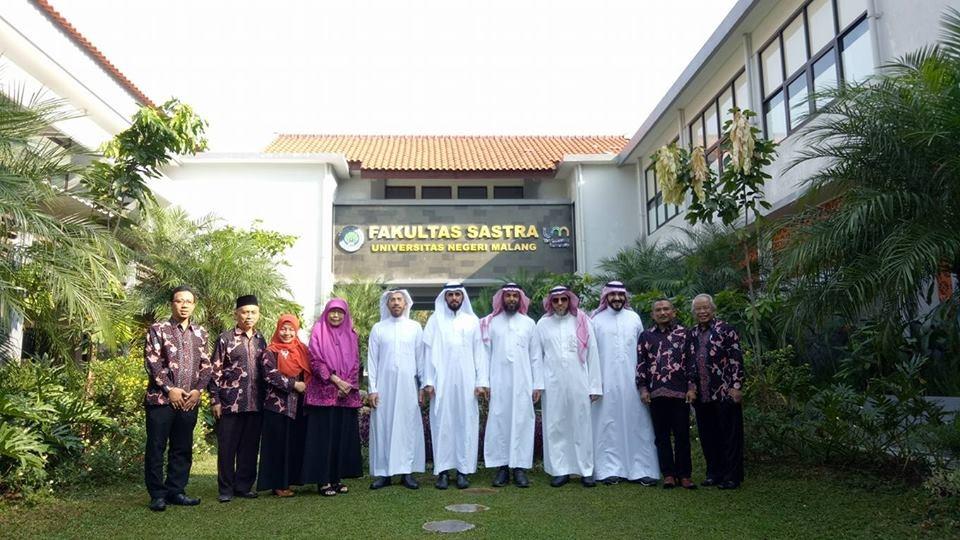 Universitas Negeri Malang (UM) Jalin Kerjasama dengan Universitas Elektronik Saudi
