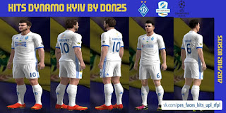 PES 2013 Kits Dynamo Kyiv (pa+euro-pa) 2016-2017 By Don25