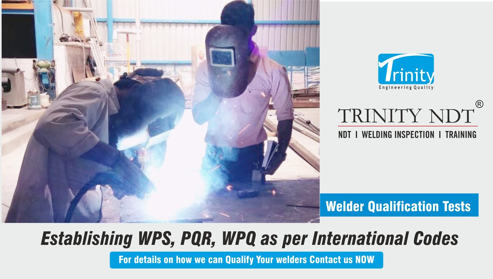 Welder Qualification Testing - Trinity NDT Welding Inspection Experts
