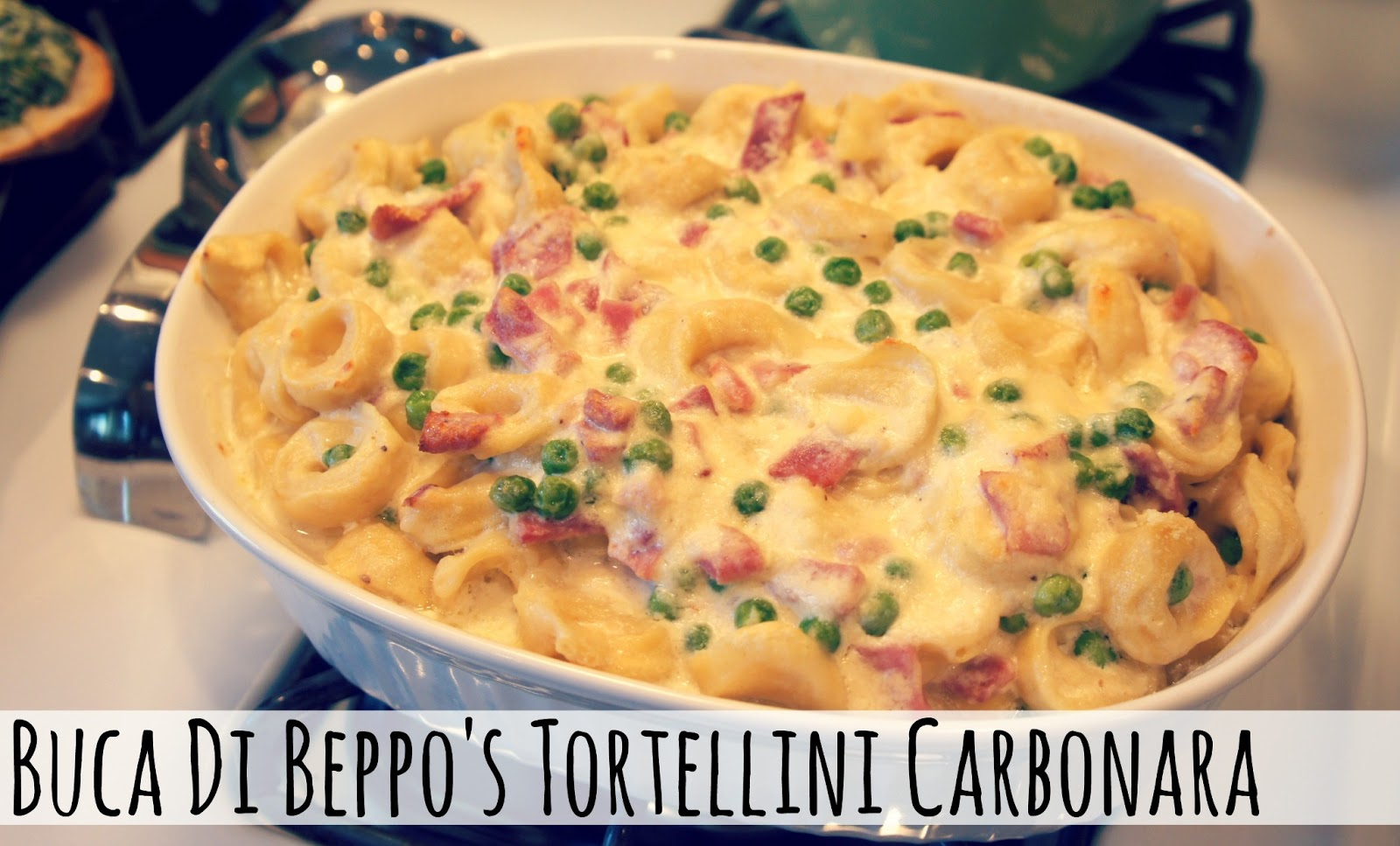 Tortellini Carbonara You Asked For It You Got It Living In Yellow