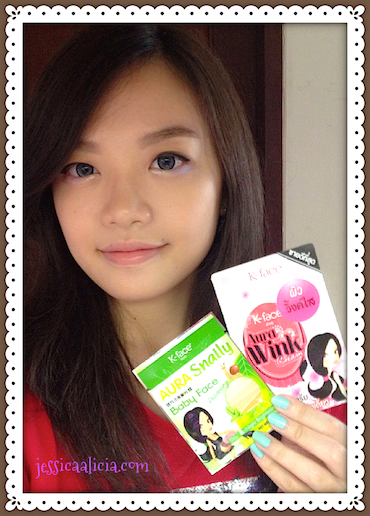 Review : K-face shop Aura Snaily & Aura Wink Cream by Jessica Alicia