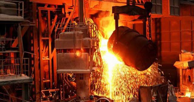 Repuntó en marzo más de 23% la producción de acero crudo en Argentina