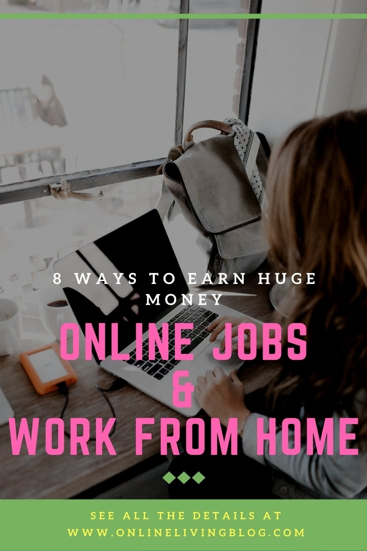 8 Online Jobs You Can Do From Home To Earn Huge Money