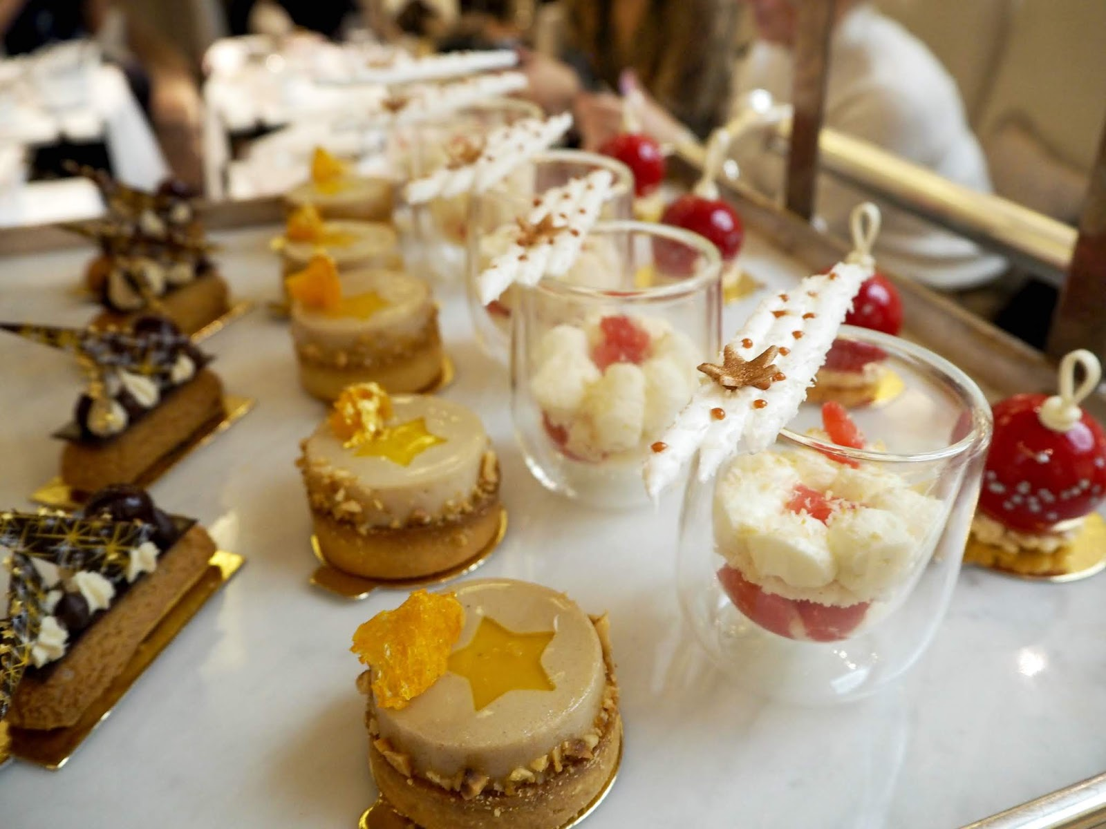 festive Patisserie served at The Corinthia London