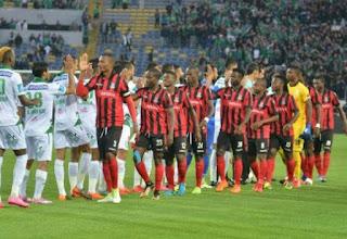 مباراة الرجاء المغربي واسيك ميموزا بث مباشر Raja Casablanca vs ASEC Mimosas 29-07-2018 الكونفدرالية