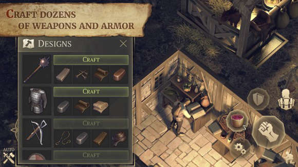 Download Grim Soul Dark Fantasy Survival Mod Apk v1.9.1 Unlimited Money Craft Android Terbaru 2019