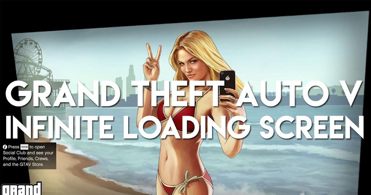 gta v loading screen girl