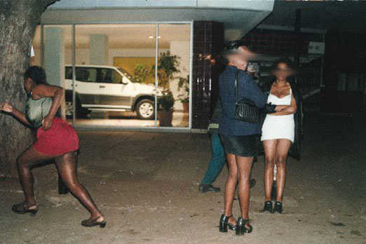 Prostitutes hold top Politician hostage and beat him in Asaba