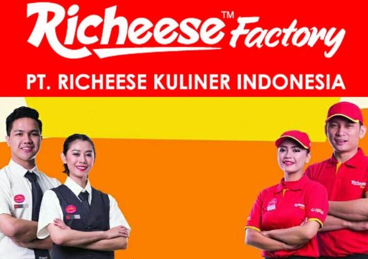 Lowongan Kerja Terbaru Lulusan Sma Smk D3 S1 Pt Richeese Kuliner Indonesia Richeese Factory