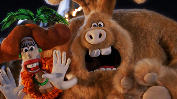A Film A Day Wallace Gromit The Curse Of The Were Rabbit 2005